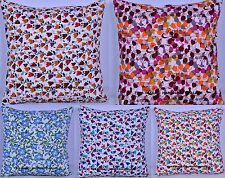"50 PC Wholesale Lot Cotton Cushion Cover Indian Pillow Sham Floral Throw 16""x16"""