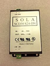 *NEW EGS Electrical Group SOLA Hevi-Duty SCD30 S24-DN DIN SWITCHING PS 30W 24VDC