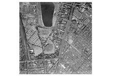 ST KILDA  Albert Park Lake 1st extreme Aerial view 1956 modern digital Postcard