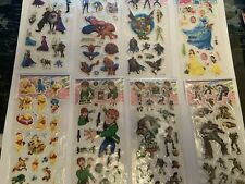 Stickers Batman Elsa Frozen Spiderman Pooh Transformers Ben 10 Disney Princesses