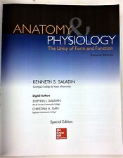 Anatomy & Physiology Unity of Form & Function 7th Ed Special Edition McGraw Hill