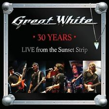 30 Years: Live from the Sunset Strip by Great White (CD, Feb-2013, Frontiers Records)