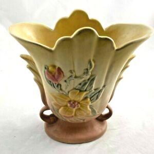 Vintage Hull Art Flower Vase - Flower Design