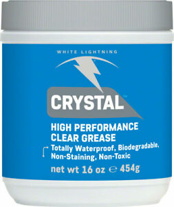 White Lightning Crystal Grease Clear Allows Mechanic to See Wear Waterproof