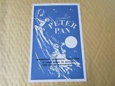 Millicent MARTIN in PETER Pan Original Alexandra BIRMINGHAM Theatre Flyer