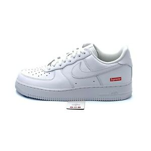 Nike Air Force 1 Low Supreme White (CU9225-100) Men's Size 6-13