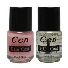 Professional Base Coat Top Coat for Acrylic Nail Art False Tip Polish 15ml