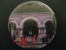 Rush-Moving Pictures-Large-Pin-Button-Badge-80's Vintage-Rare