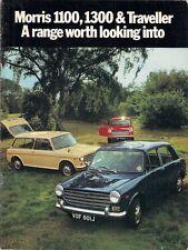 Morris 1100 & 1300 Mk2 1970-71 UK Market Sales Brochure Saloon Traveller