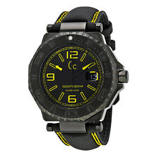 GC by Guess GC-3 Black PVD Stainless Steel Mens Watch X79014G2S