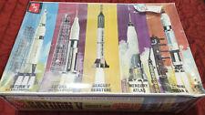 SEALED NEW AMT 700L06 1/200 Man In Space Nasa Spacecraft Model Kit Rockets Vinta
