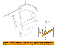 KIA OEM 10-11 Rio REAR DOOR-Body side mldg Right 877321G600