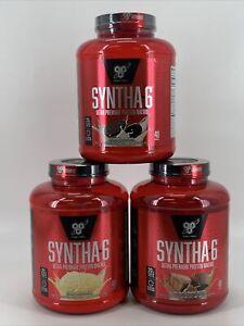 BSN Finish First Syntha-6 Ultra Premium Protein Matrix 48 Serv 5 Llbs  Pick Flav
