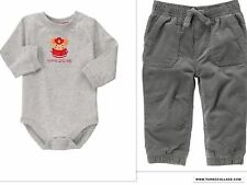 GYMBOREE SNOW COZY MOMMY'S LITTLE HERO TODDLER BOYS OUTFIT NWT SIZE 18-24 MTHS