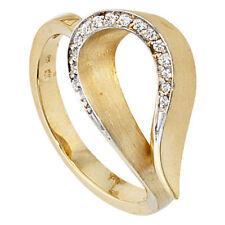 Natürliche Echtschmuck Diamant 58 (18,4 mm Ø)