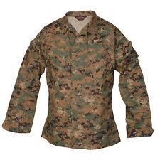 Woodland Digital Camo BDU Uniform Mil-Spec Jacket by TRU-SPEC 1928 - FREE SHIP