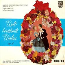 MAX GUNTHER Weltberuhmte Walzer Vol. 1 EP 7 Inch Dutch Philips 428 057 PE 1967