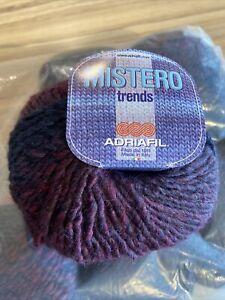 Mistero Trends Chunky Yarn By Adriafil In 10 X 50g Balls Shade 035