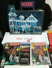 House 1986 Video Store Promotional VHS Comic Books Horror Clamshell Bill Maher
