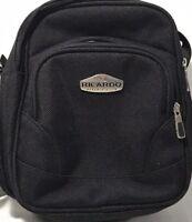 Ricardo Beverly Hills Luggage Shoulder Cross Body Man Bag Black