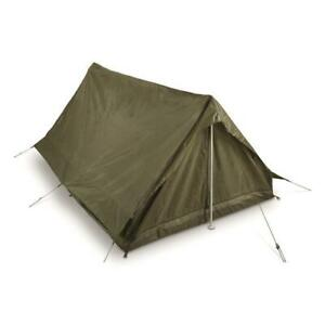 French F1 2 Person Tent Military OD Green Pup A Frame Tent Waterproof Shelter