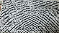 Schumacher Chain Link Navy Fabric, 54' wide, sold by yard