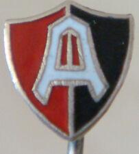 Andino Sport Club Vintage Club Crest tipo insignia pin de palo Montaje Dorado 7 Mm x 8 mm