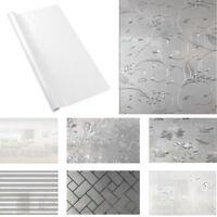 Selbstklebend ohne Klebstoff Fensterfolie PVC Statisch Folie Sichtschutzfolie