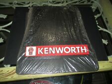 "Kenworth Front Fender Mud Flaps 13"" x 18"" x 20"" - set of 2 - New Old Stock"