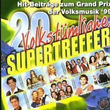 20 Volkstümliche Supertreffer '99 JUDITH & MEL TRIO MELODY ERIKA BRUHN FELICE