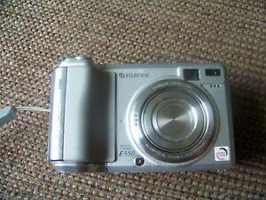 Fujifilm Finepix E Series E550 6.3MP Digital Camera - Silver