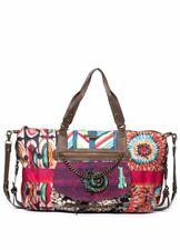 DESIGUAL WOMENS SHOPPING SHOULDER BAG HANDBAG TOTE COLORFUL CIRCLES LARGE 162