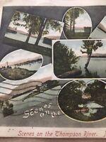 Vintage Postcard, 1906 Thompson River Kamloops B.C. Canada, P65