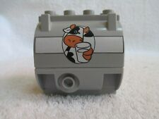 Lego Duplo two piece Milk Tank Only for farm or rail car