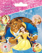 Disney Beauty and the Beast (Tale as Old as Time) Vinyl Stickers * OFFICIAL *