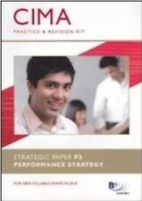 New, CIMA - P3: Performance Strategy: Revision Kit, BPP Learning Media, Book