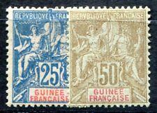 GUINEE 1900 Yvert 16-17 * TADELLOS 65€(F0566