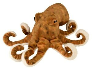 "NEW PLUSH SOFT TOY 10872 Cuddlekins Sea Critters Octopus Wild Republic 8"" 20cm"