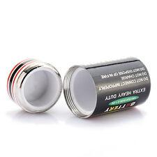 Credible Stash Diversion Battery Shape Safe Money Coins Pill Box JcKc