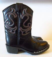 Arizona Jean Co. Black Western Boots for Girls in Size 8M (Kids)