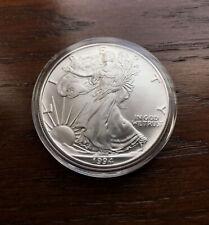 1994 AMERICAN SILVER EAGLE. 1oz Silver. BU Condition. LOW MINTAGE!