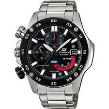 Casio Men's 'Edifice' EFR 558DB-1AV Quartz Stainless Steel Watch