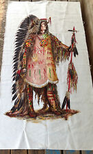 Vintage Wesco-Reltex American Indian Linen