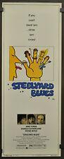 STEELYARD BLUES 1973 ORIGINAL 14X36 MOVIE POSTER MEL STEWART DONALD SUTHERLAND