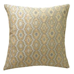 We64 -Light Blue Eye Flora Damask Bolster Case/Pillow/Sofa Seat Cushion Cover