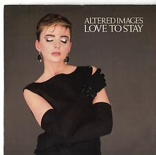 "Altered Images - Love To Stay 7"" Single 1983"