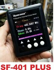New SURECOM SF401-PLUS Portable Frequency Counter with CTCCSS/DCS Decoder mini