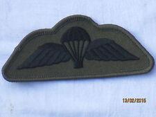 Para Balancín, Calificado Paracaidista, Paracaidistas, negro en oliva, #1