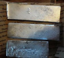 8.4 LBS Zinc alloy Ingot/Bar hand poured