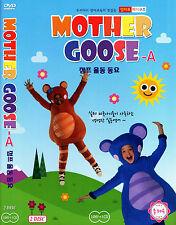 Mother Goose Club Educational DVD & CD set A - Nursery Rhymes - Songs (NEW)